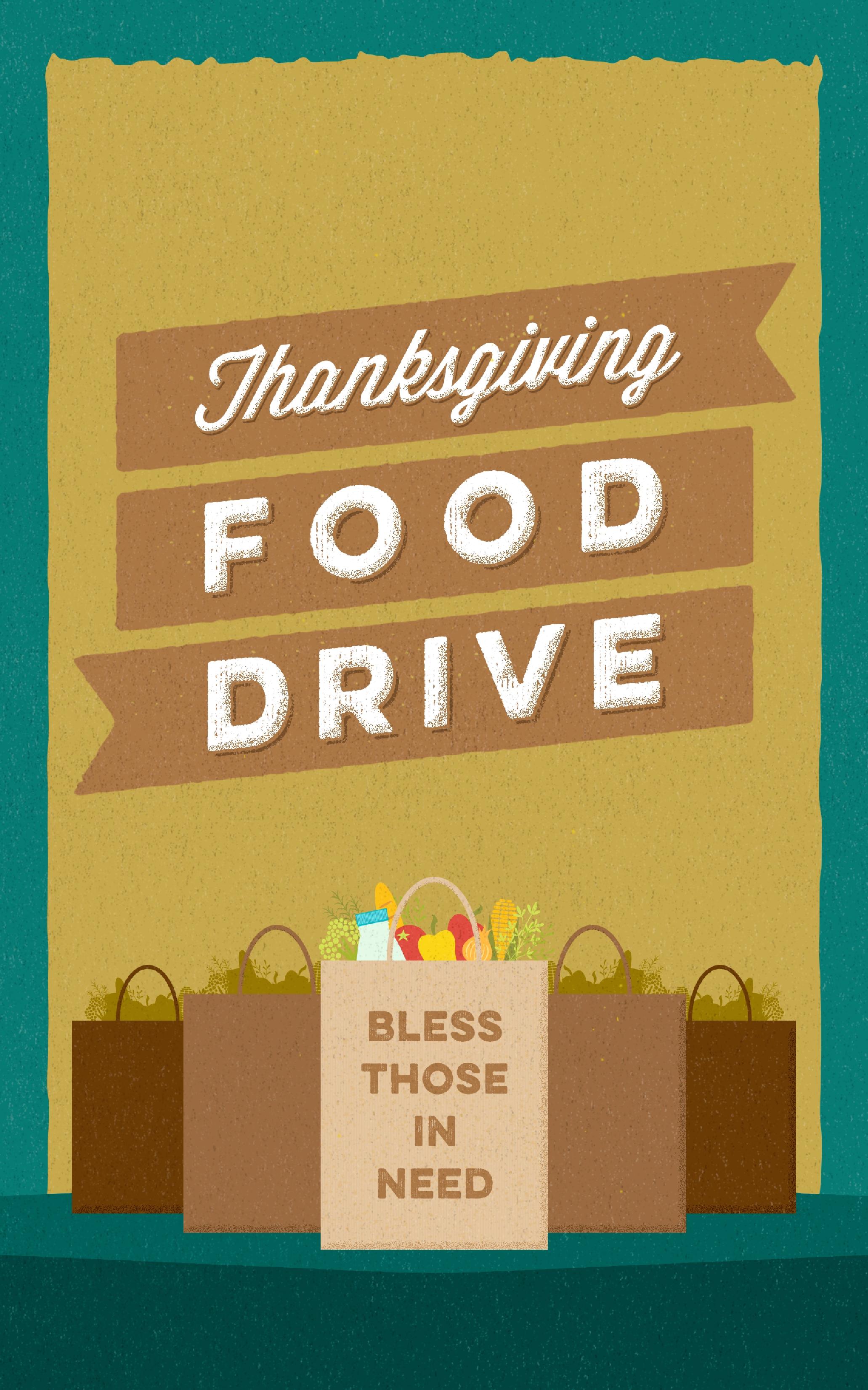 thanksgiving food drive christian bulletin city bible church